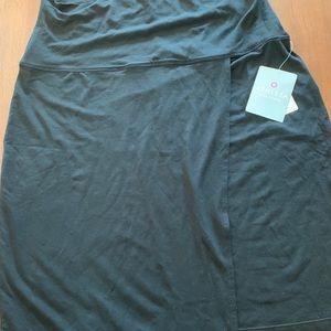 NWT Athleta Seaside Fold Asymmetrical Skirt